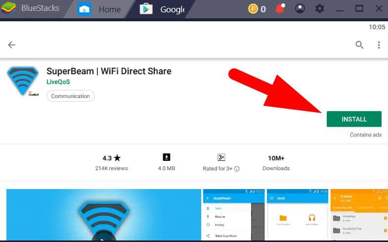 Superbeam For Pc And Macbook Windows 10 8 7 Free Download Android Emulator App Share Macbook