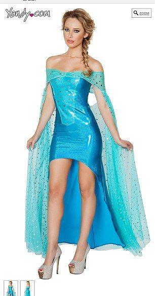 Sexy Elsa Costume