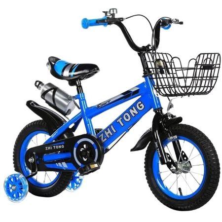 Bicicleta sport 16 inch Sport albastru pentru copii cu