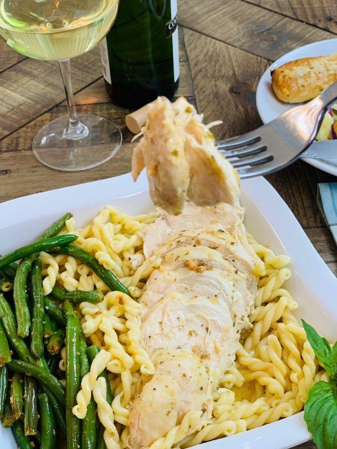 Instant Pot Olive Garden Italian Dressing Chicken Recipe