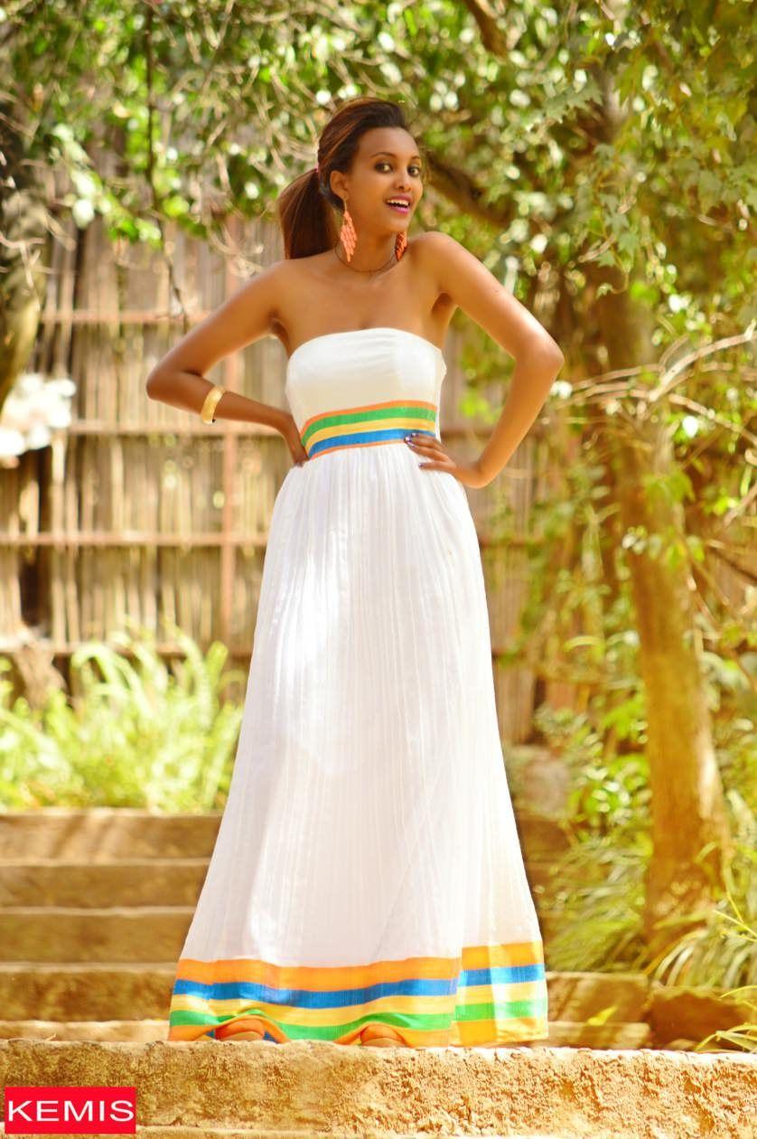 Ethiopian Traditional Fashion Dress