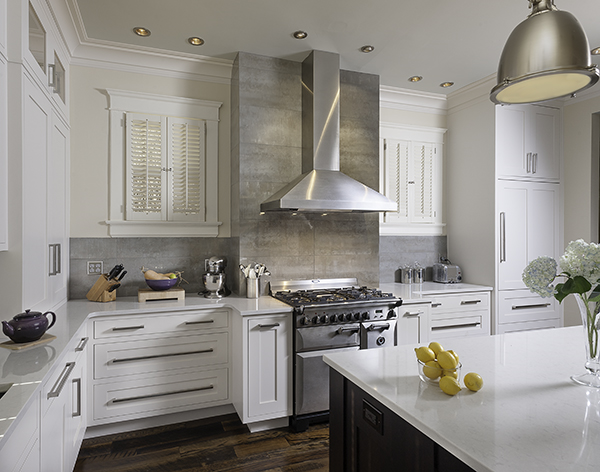 Mouser Cabinetry   White Contemporary Kitchen