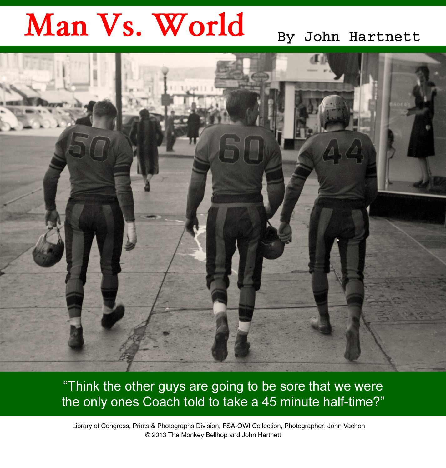 When NFL Stands for Not For Long -- #humor #manvsworld