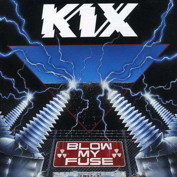 Kix Blow My Fuse album cover Portadas de álbumes de rock