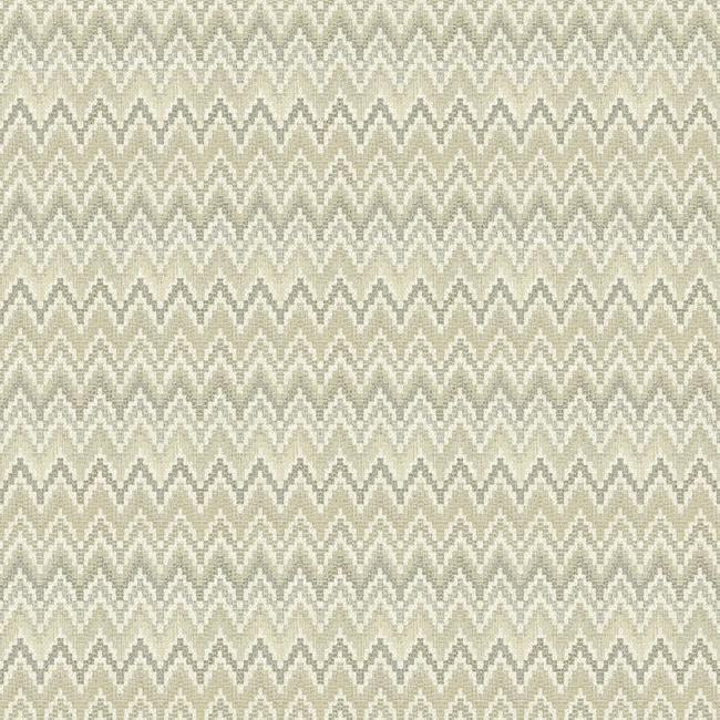 York Wa7789 Waverly Classics Heartbeat Wallpaper Chevron