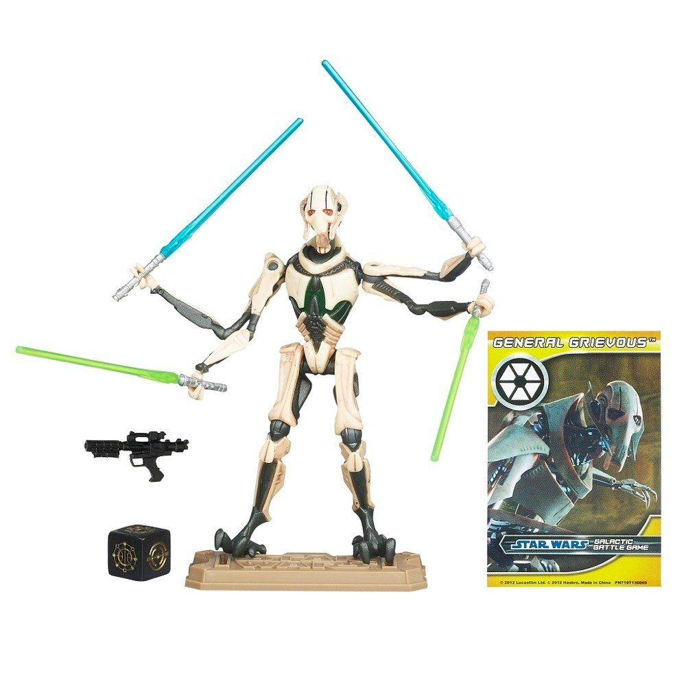 Star Wars Movie Heroes 2012 Action Figure Mh07 General Grievous 3 75 Inch Toys Games Hero Movie Star Wars Movie Star Wars Action Figures