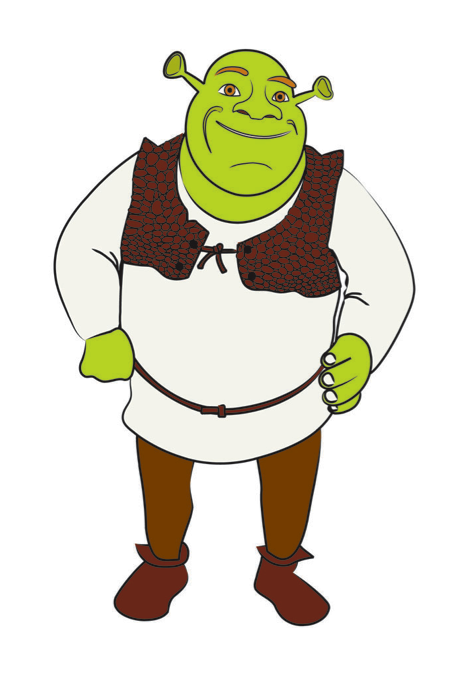draw shrek shrek craft and clip art rh pinterest com shrek face clipart shrek face clipart