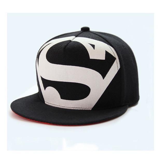 Men/'s Fashion Superman Hip Hop Adjustable Cap Flex Fit Snapback Baseball Hat NEW