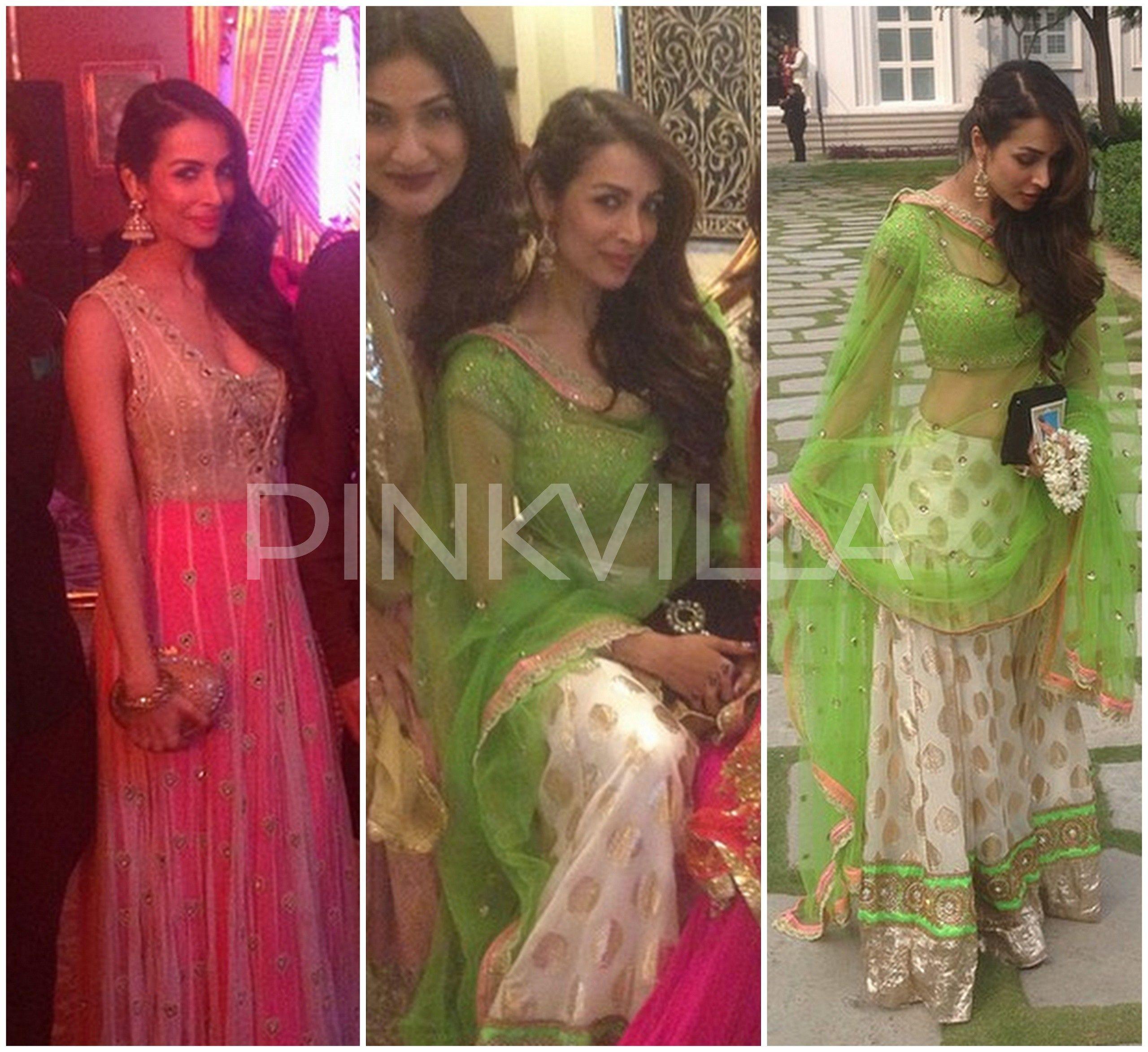 Yay Or Nay Malaika Arora Khan At Arpita S Wedding Festivities