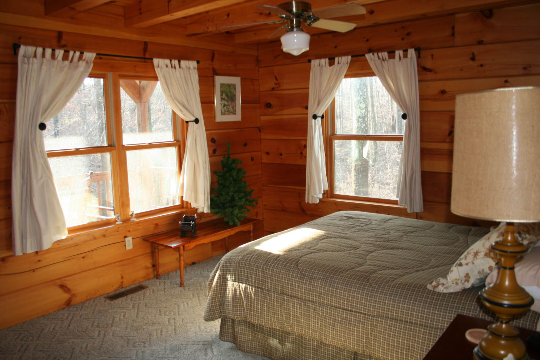 Log bedrooms awesome log cabin bedroom dream home for Log bedrooms