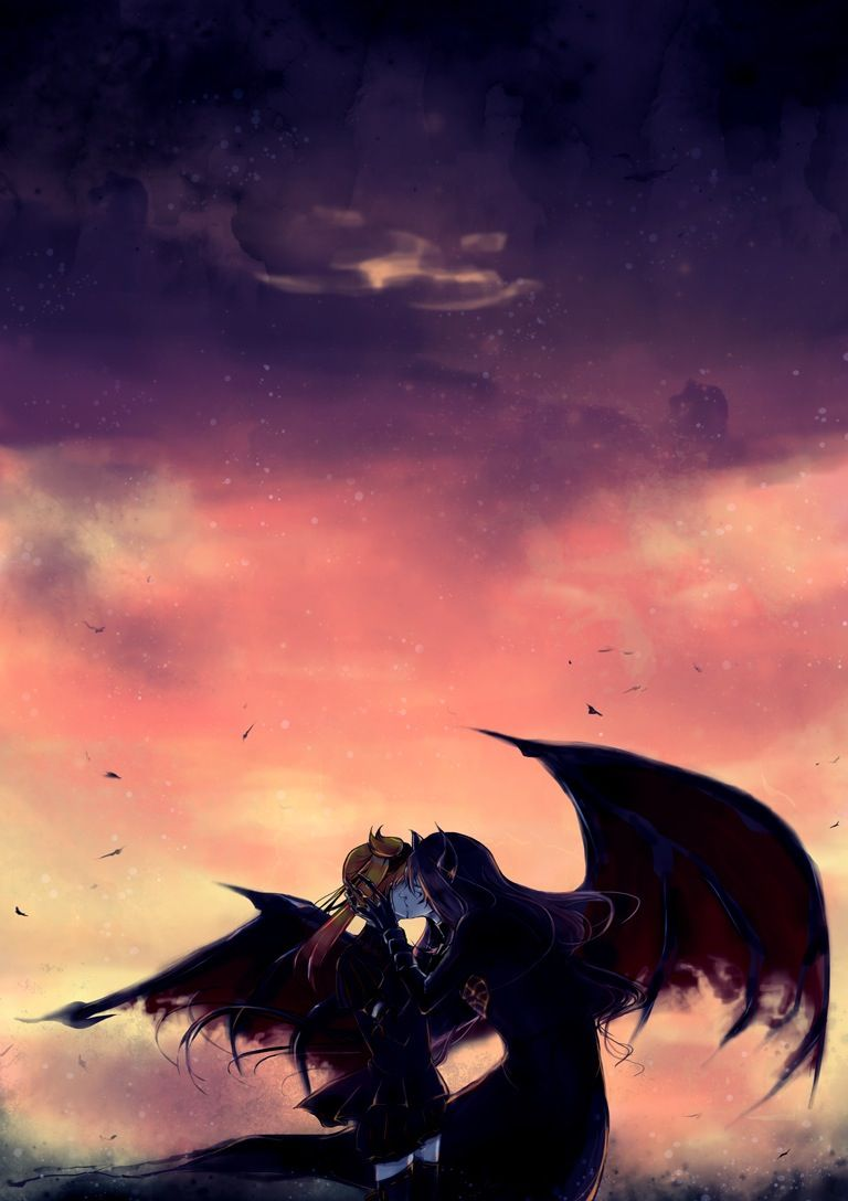 Anime, Demon Couple | All things Anime | Pinterest | Anime ...