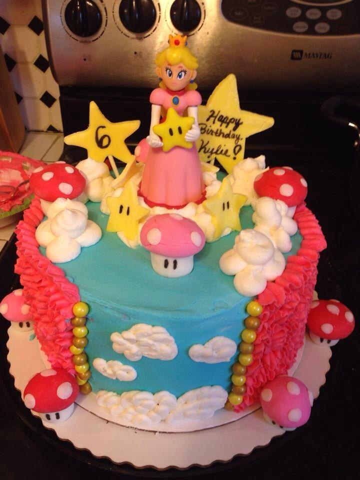 Princess Peach Cake Cakes Cake Peach Cake Birthday Cake