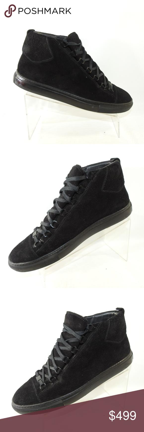 Balenciaga Arena Size 12 Black Sneakers