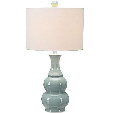 Jcpenney Home Green Double Gourd Table Lamp Table Lamp Lamp Table Lamp Design Jcpenney living room table lamps