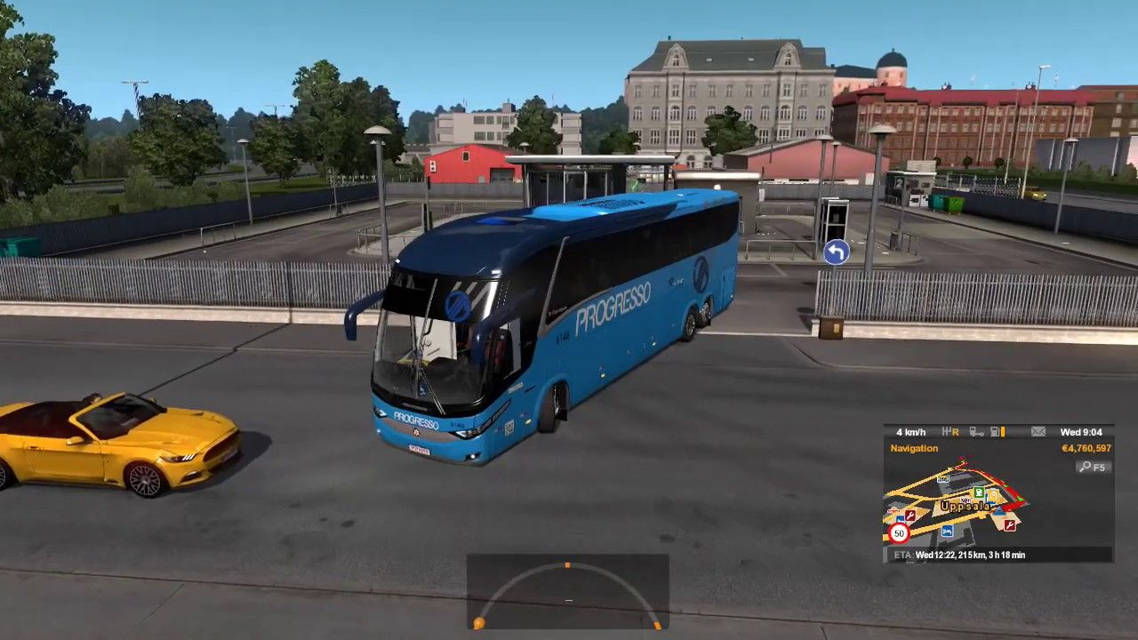 Euro Truck Simulator 2 Bus And Passenger Mod Scandinavian Trip Trip Passenger Scandinavian
