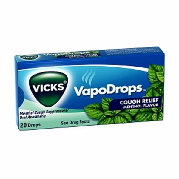 Details About Vicks Vapodrops Cough Relief Drops Menthol Flavor 20