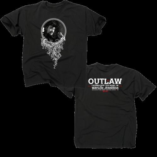 b931f97ad Outlaw: Waylon Jennings Vintage Black T-shirt (Unisex) in 2019 ...