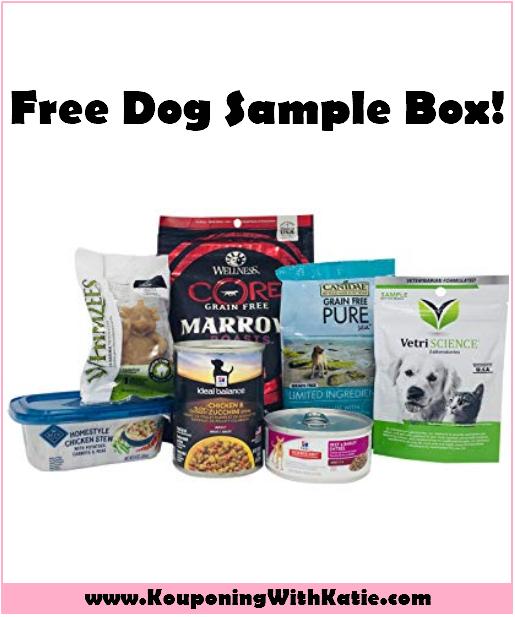 FREE Dog Food & Treat Sample Box w/Amazon Promo Credit