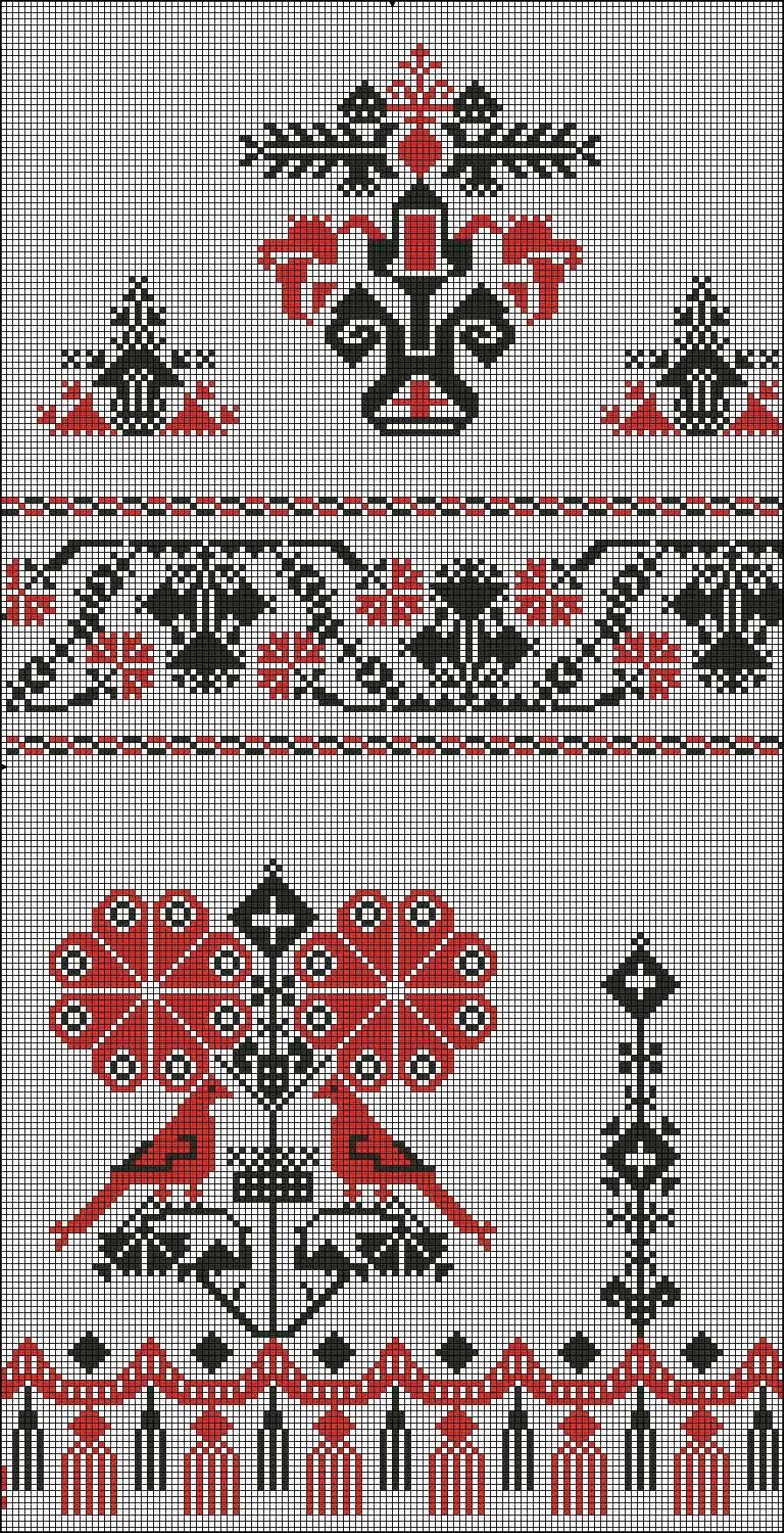Русский свадебный рушник своими руками схемы русская традиция