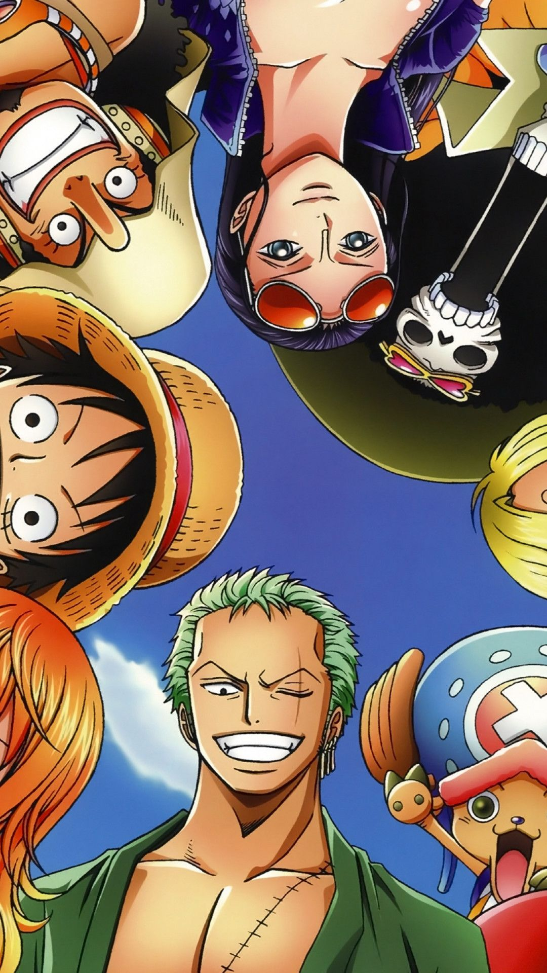 1080x1920 Hd Wallpaper One Piece Straw Hat Iphone 6 Plus