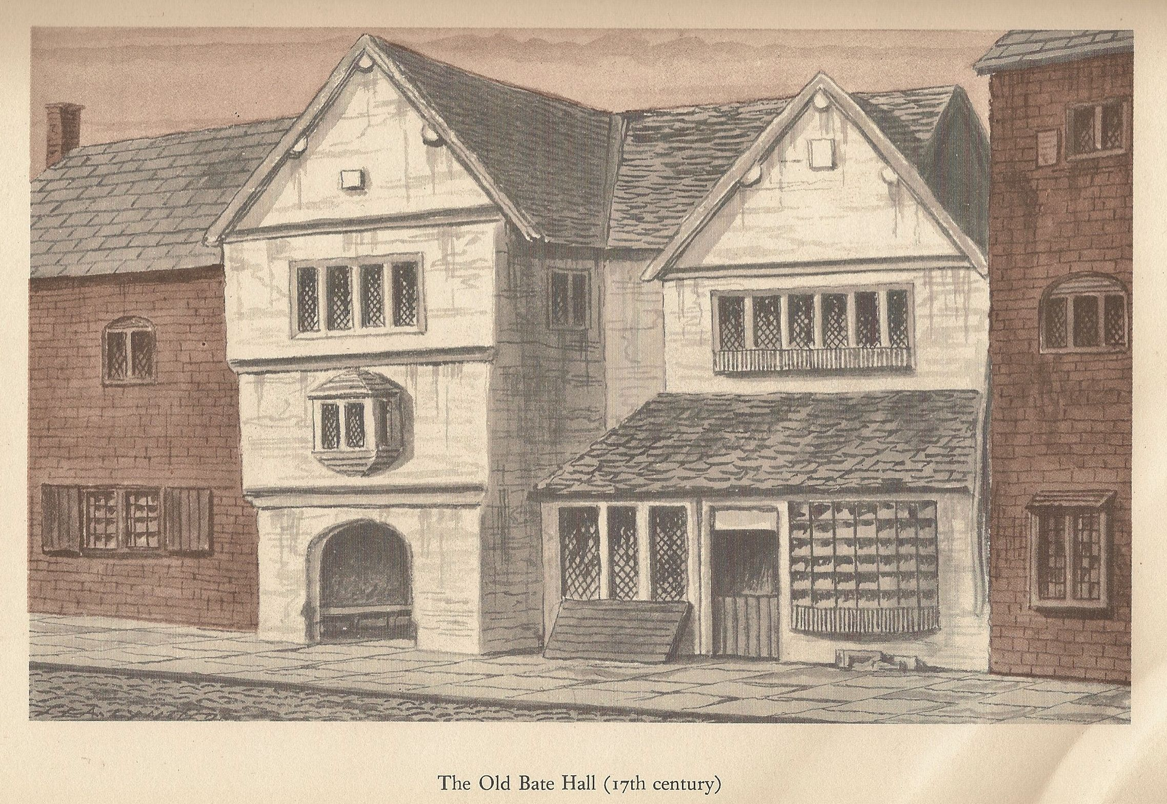the old bate hall 17th century