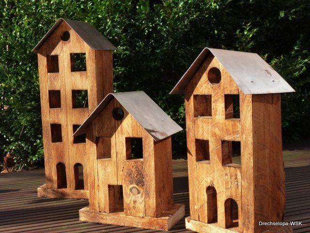 Häuschen für die Gartendekoration Bird houses - gartendekoration aus holz