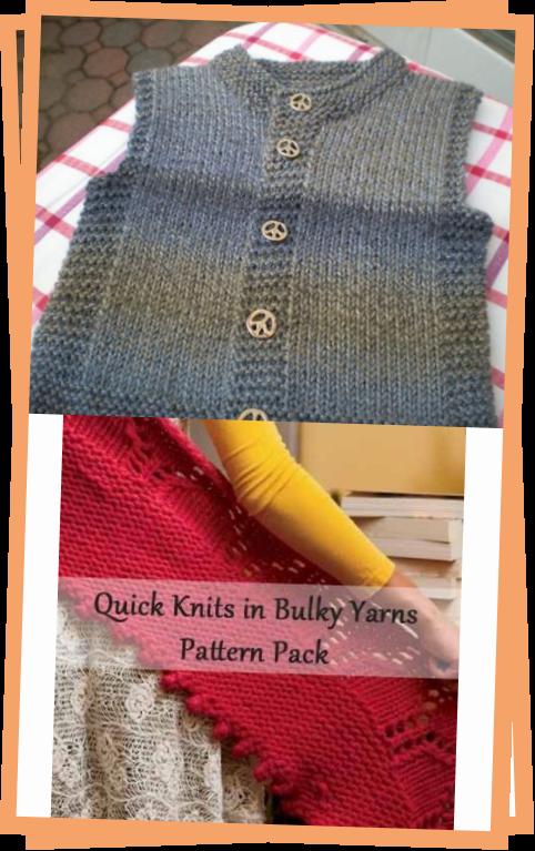 Photo of Quick-Knit Vest – Free Pattern Beautiful Skills – Crochet Knitting Quilting