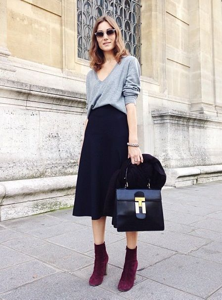 57ff5a56dad How to Wear Your Midi Skirt This Winter – Fashion Style Magazine - Page 9
