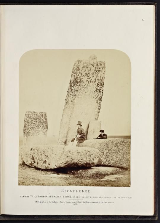 Plans and photographs of Stonehenge and of Turu...