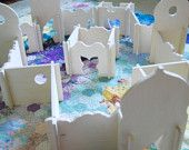 Wood Castle Toy, Castle Towers, Modular Play Set, Montessori and Waldorf Inspired. $135.00, via Etsy.