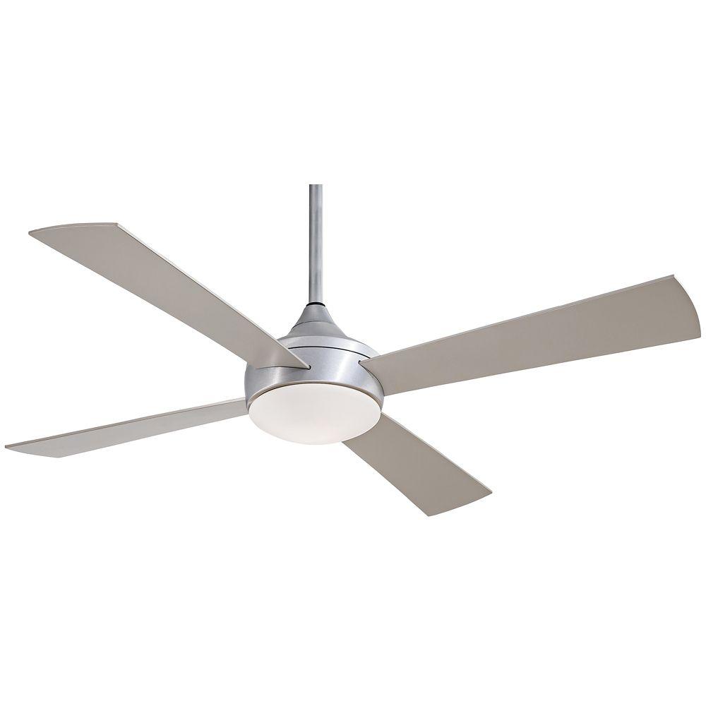 52 Minka Aire Aluma Wet Brushed Aluminum Ceiling Fan Style