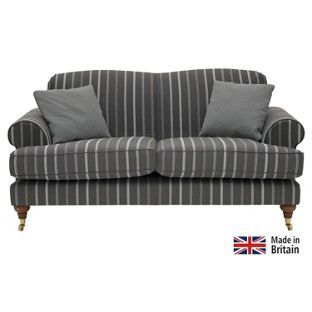 Heart Of House Sherbourne Regular Striped Sofa Charcoal At Argos Co Uk Your Online For Sofas