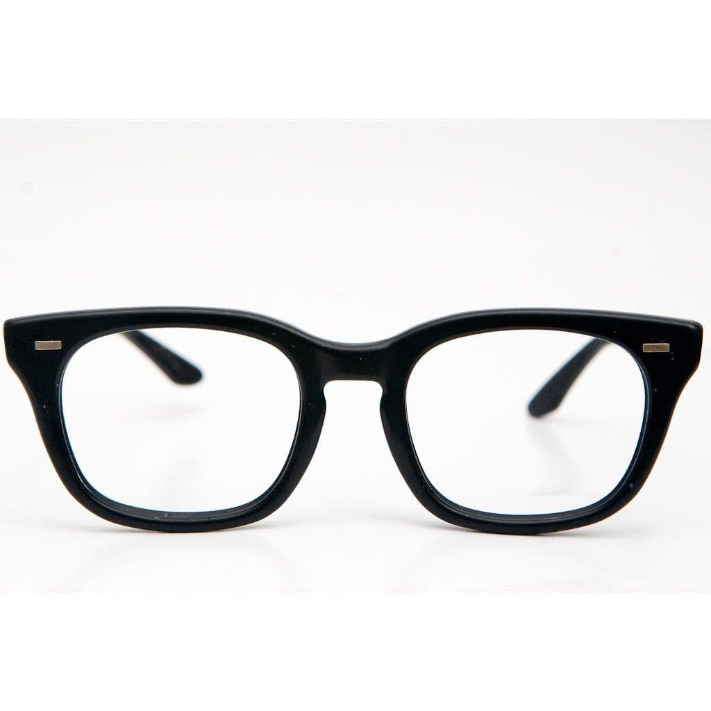 Glasses Frames And Style : USS HALO Black Eyeglasses Frame 50-20 - Horn Rim 50s/60s ...