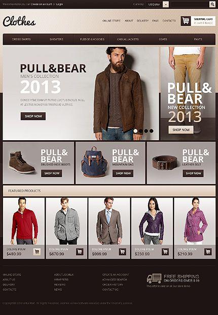 9d7547dcf Joomla Online  Clothes Store.  140
