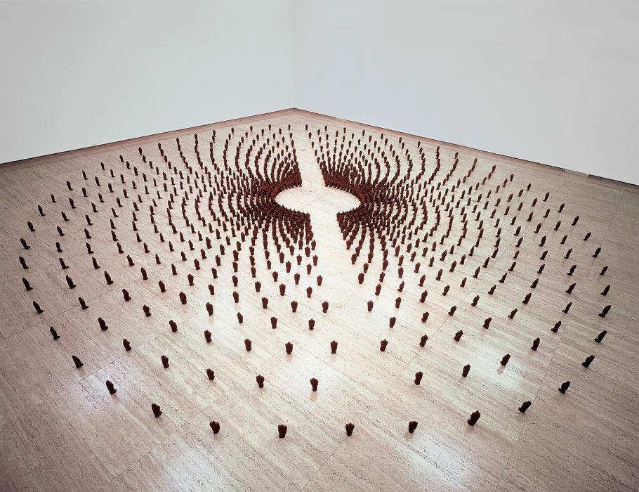 FIELD FOR THE ART GALLERY OF NEW SOUTH WALES, 1989, Antony #Gormley