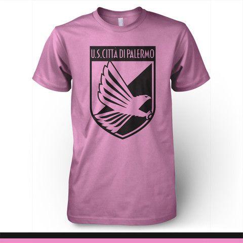 Palermo Italy T-shirt - Forza Rosanero - Pandemic Soccer