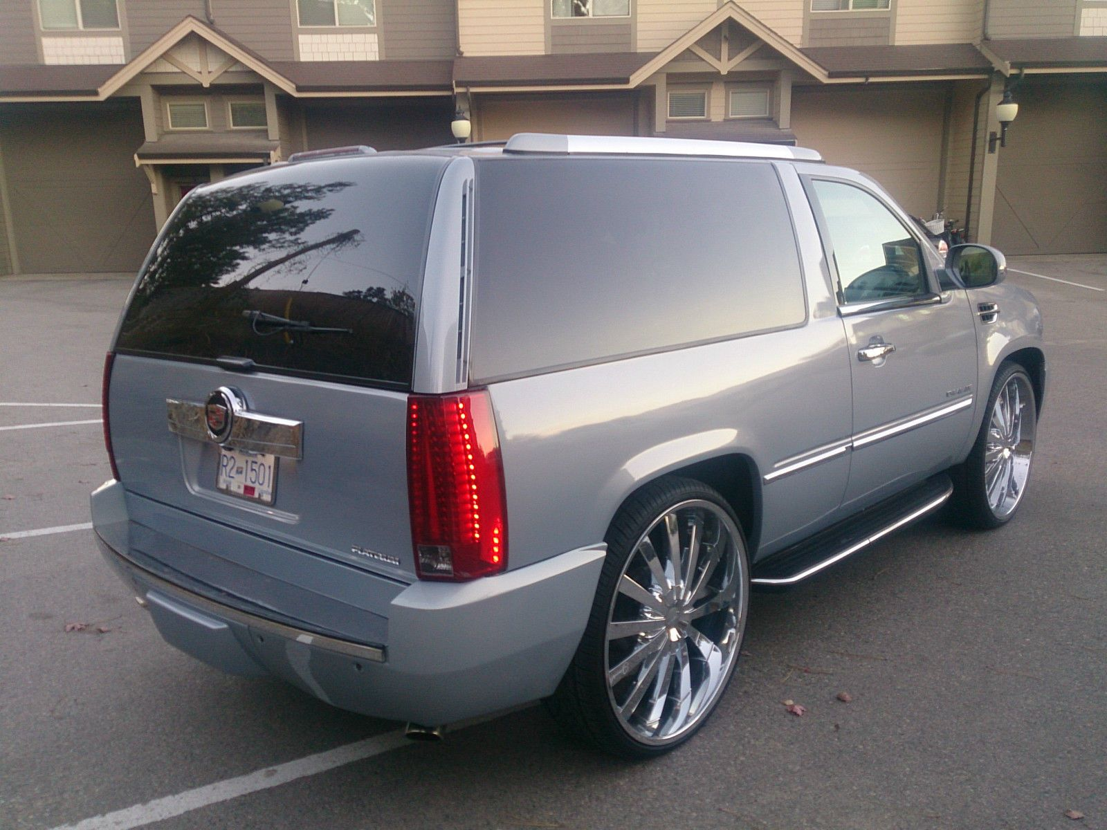 medium resolution of 96 2 door tahoe completely converted to an escalade the chicago garage