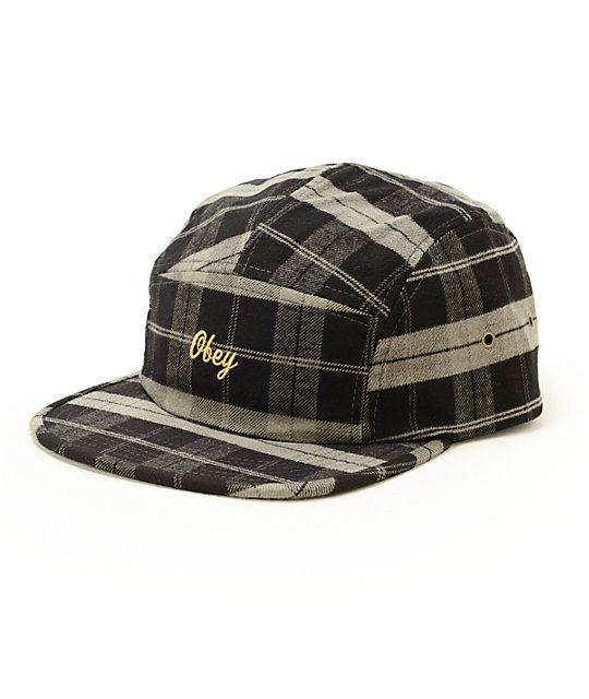 Obey Groveport 5 panel hat