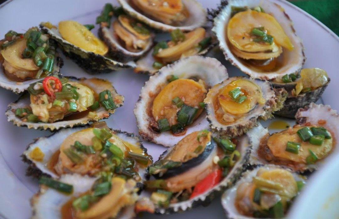 A seafood dish in Cu Lao Cham (Cham Islands), Vietnam