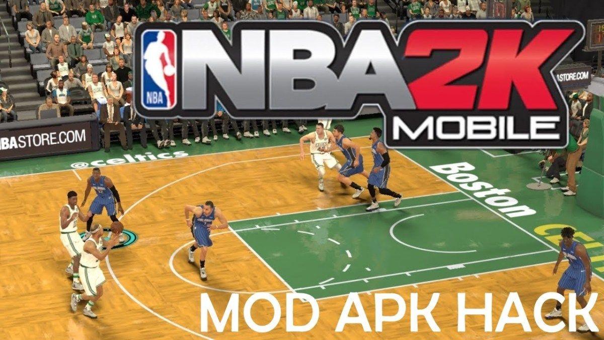 Nba 2k Mobile Basketball Mod Apk V1 0 0 410081 Obb Data For Android June 2019 Nba Live Mobile Hack Nba Basketball