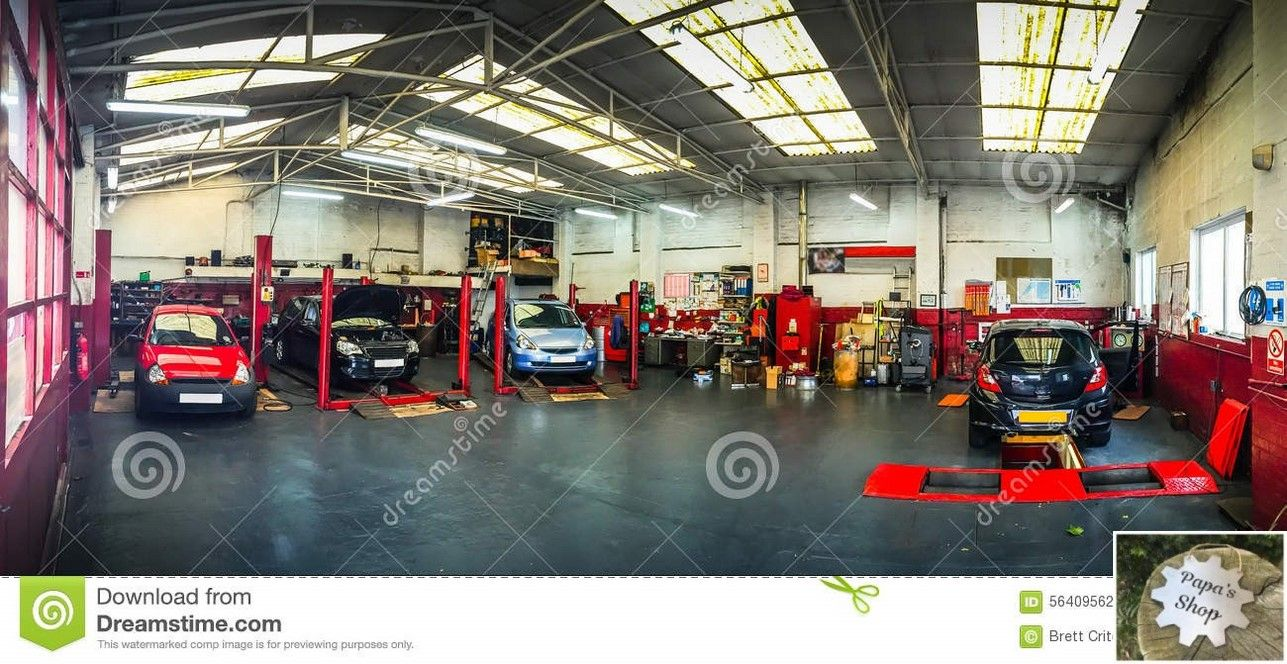 Big and Modern Garage Shops. Diy Plans and Layout.