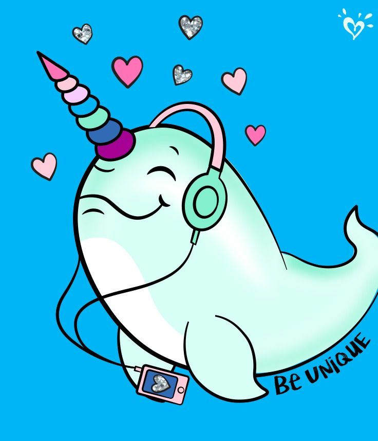 Here S To Cool Narwhals Who Give New Meaning To Traveling In Pods Cute Narwhal Narwhal Art Narwhal Drawing