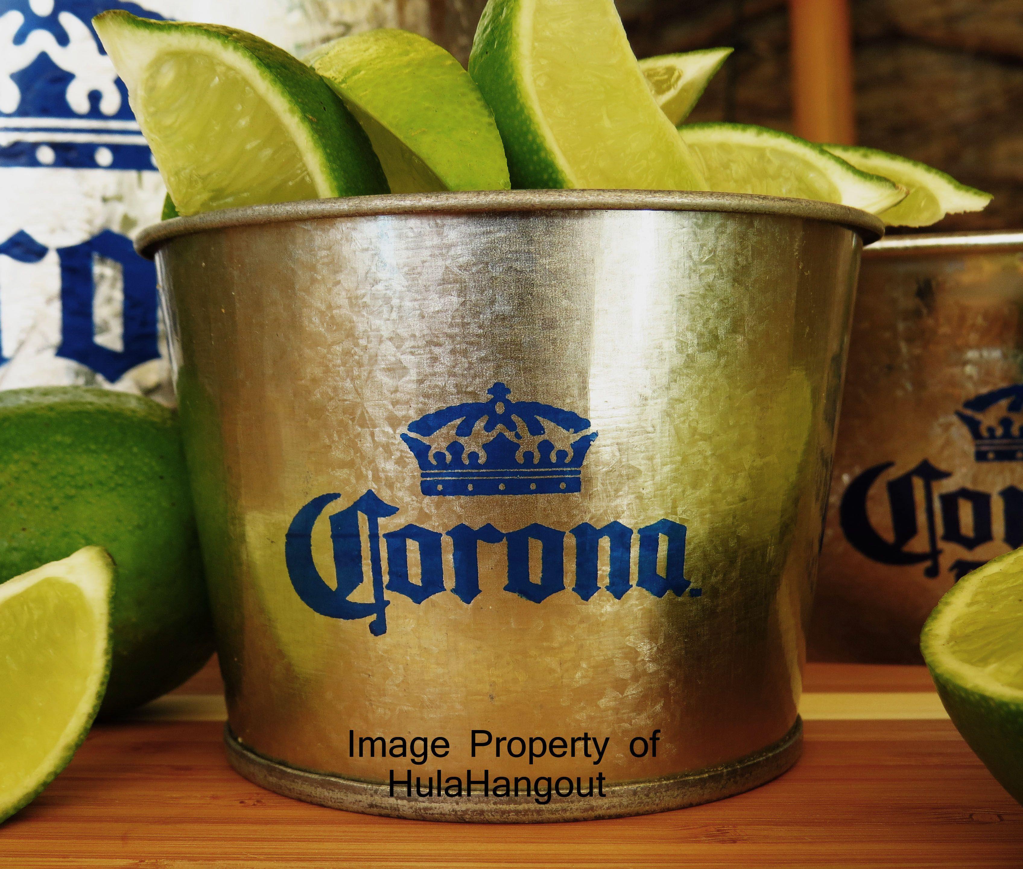 Corona Lime Bucket Beer Party Theme Beer Bucket Beer Theme