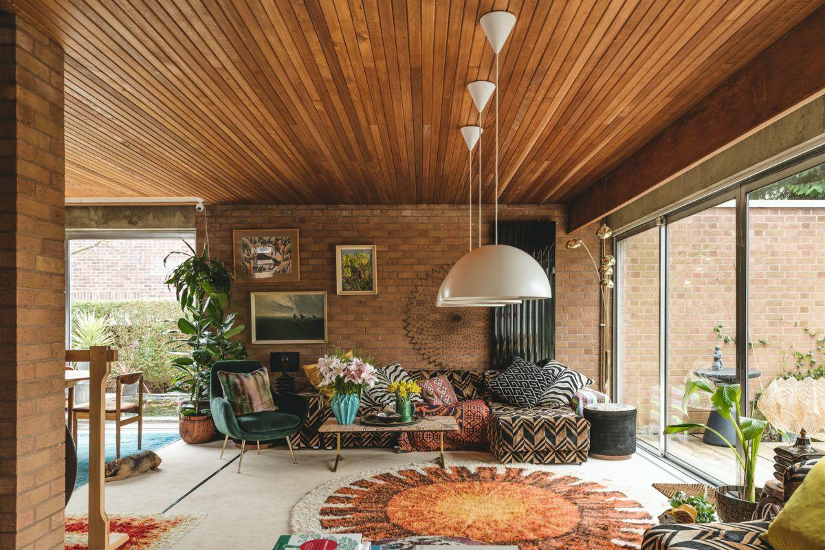 Jasmine Hemsley and Nick Hopper's 1970s house in B