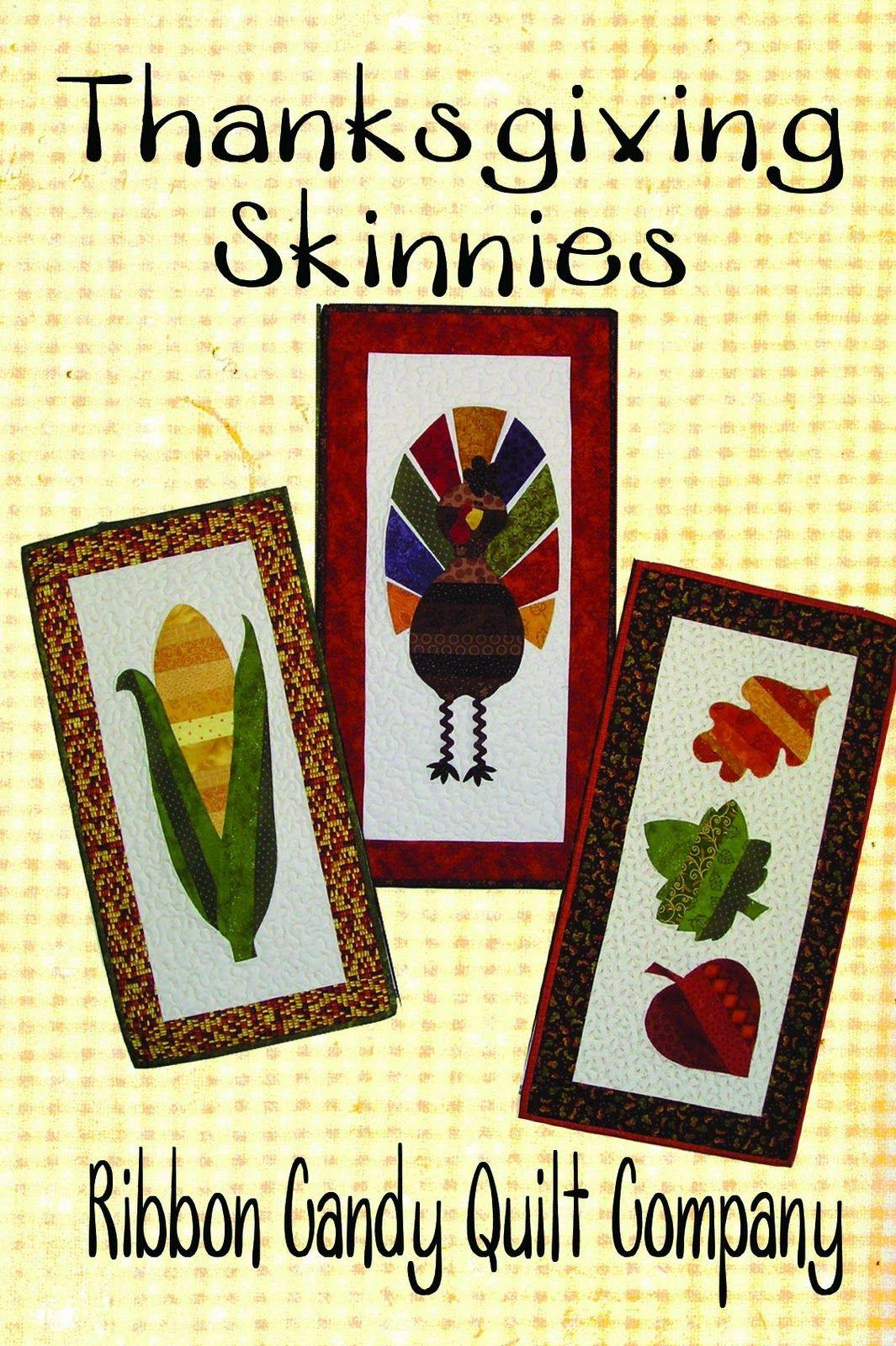 Ribbon Candy Quilt Company: Seasonal Skinnies Patterns | Quilting ... : ribbon candy quilt - Adamdwight.com