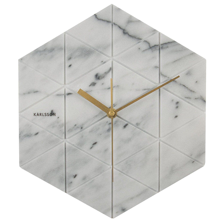 bella vista cerca genuino scaricare la consegna Stupendo orologio da muro, finitura marto e lancette ottone ...