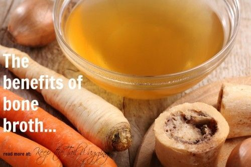 Bone broth is a great way to add valuable nutrients to a