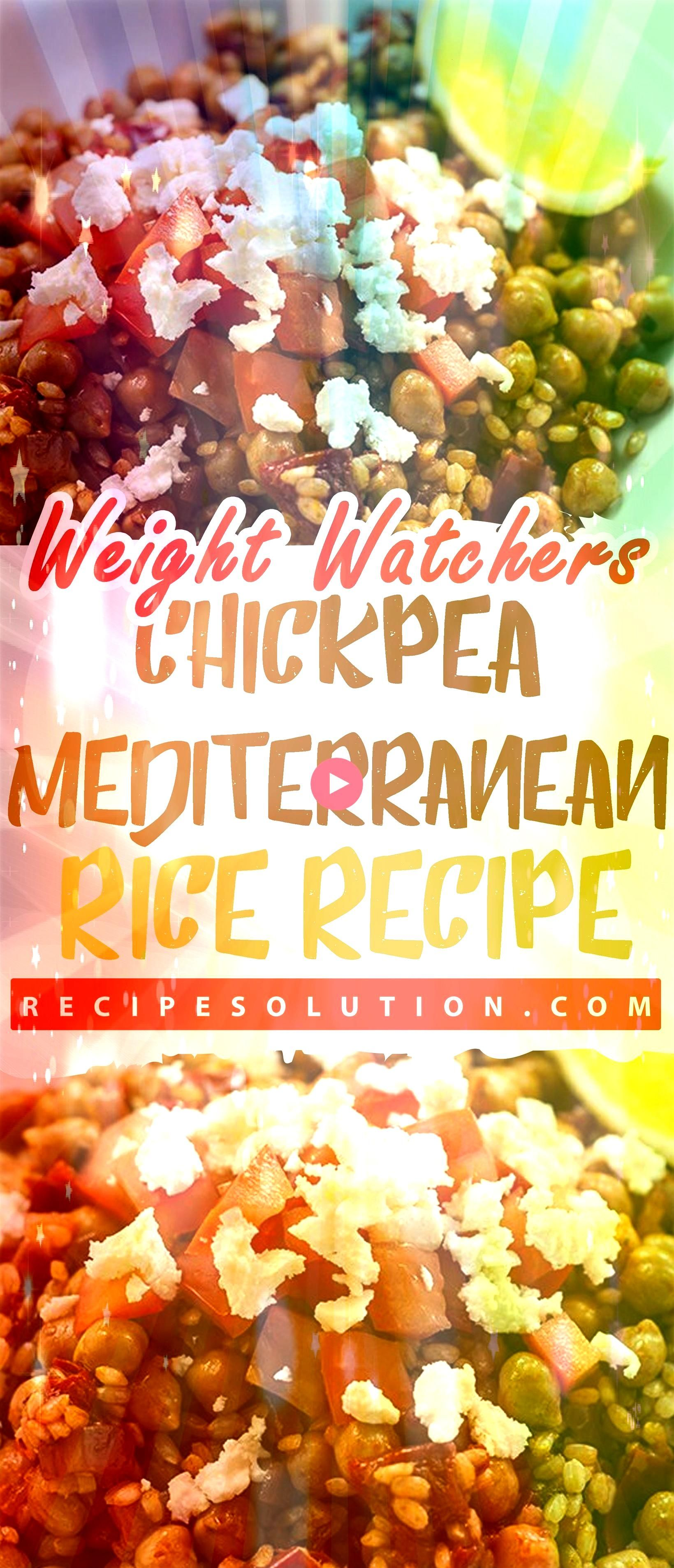 Mediterranean Rice Recipe  Recipe SOLUTION 9 SMARTPOINTS  The road to healthy eating is easy with these Healthicious recipes makes it easy and enjoyable to eat well and f...