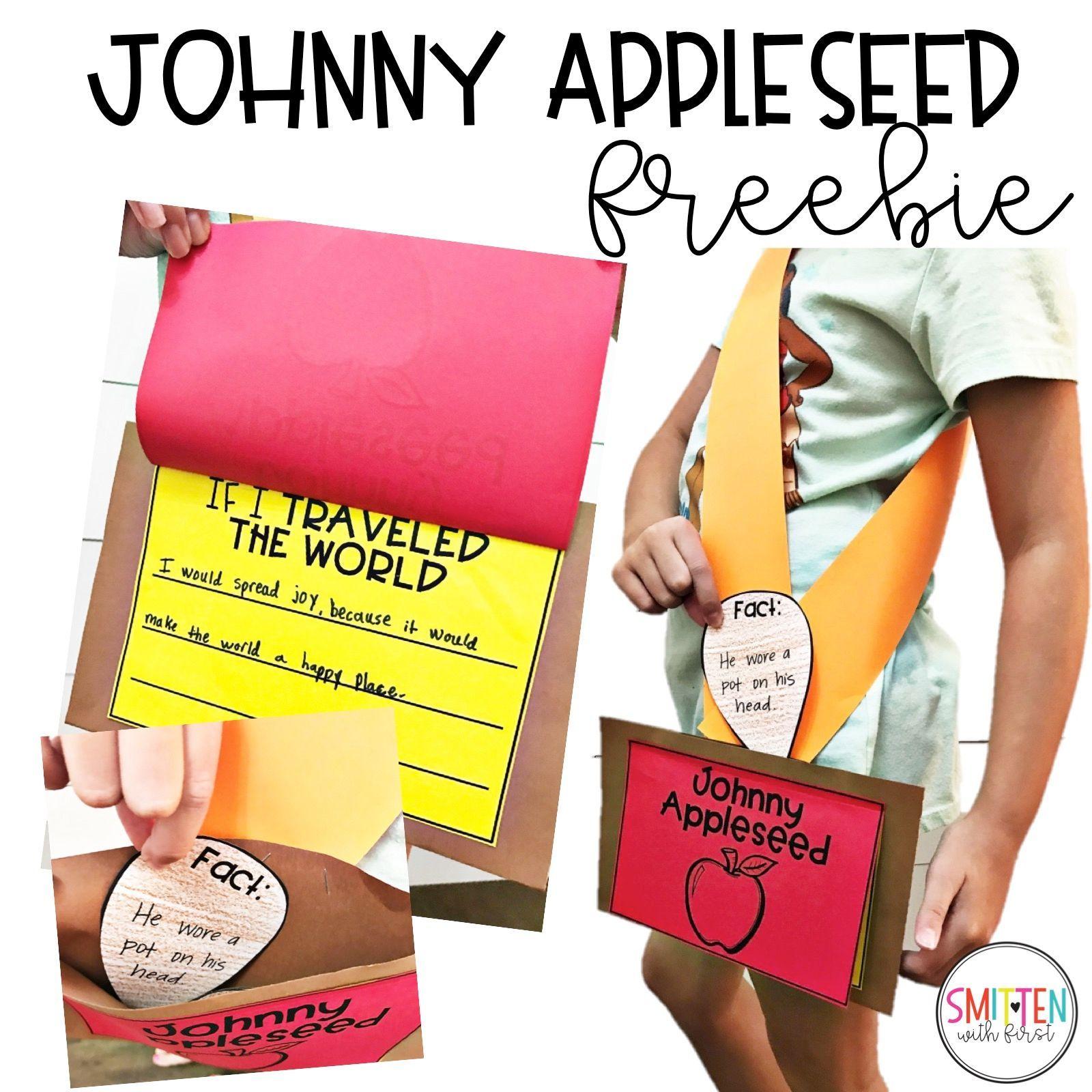 Free Johnny Appleseed Activities For Kindergarten 1st