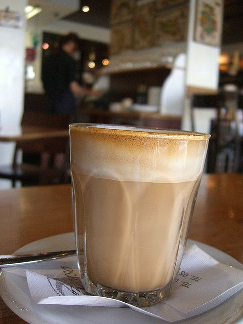 café en vasito